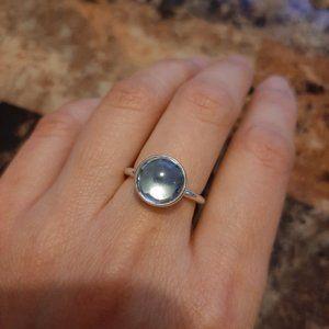 Pandora Poetic Droplet Blue Ring 190982NAB